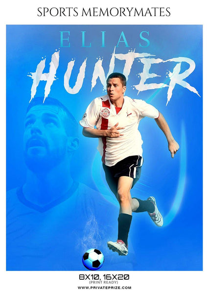 Elias-Hunter - Soccer Memory Mate Photoshop Template