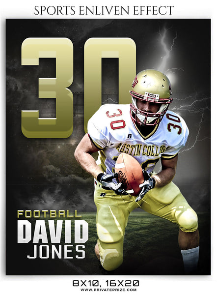 David Jones Football Sports Photography- Enliven Effects