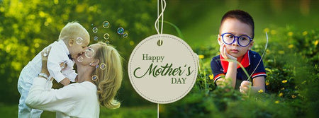 Mother's Day - Facebook Timeline Cover - Photography Photoshop Template
