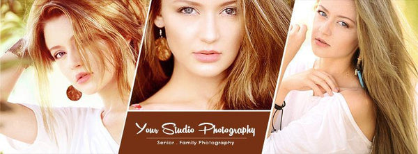 Seniors - Facebook Timeline Cover Banner - Photography Photoshop Template