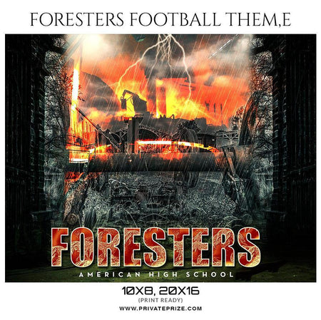 Foresters - Football Sports Photography Template - PrivatePrize - Photography Templates