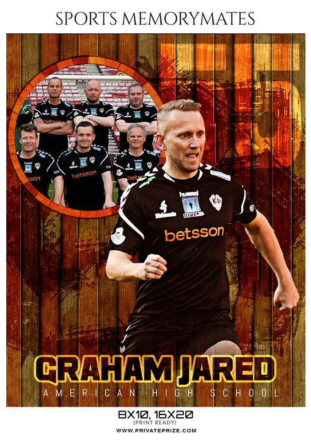 Graham Jared - Soccer Memory Mate Photoshop Template