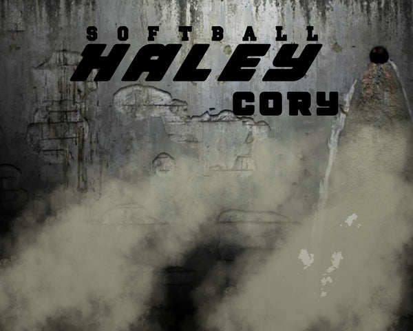 HALEY CORY-SOFTBALL- SPORTS ENLIVEN EFFECT - Photography Photoshop Template