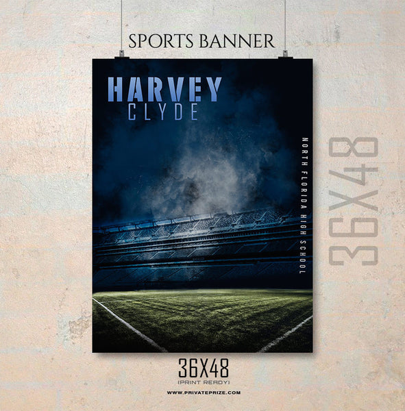 Harvey Cylde-Soccer Enliven Effects Sports Banner Photoshop Template