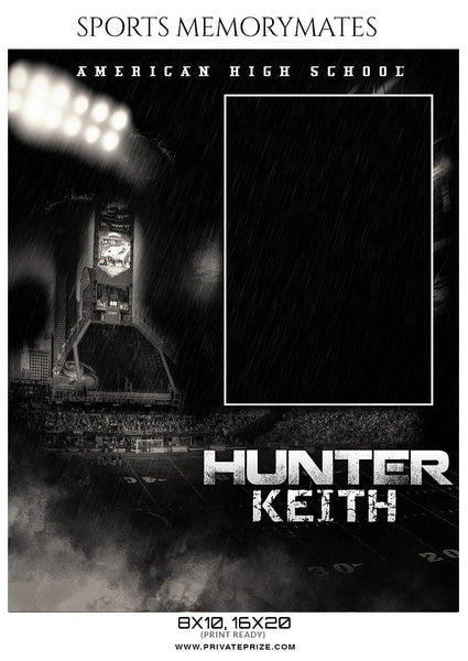 Hunter Keith - Soccer Memory Mate Photoshop Template