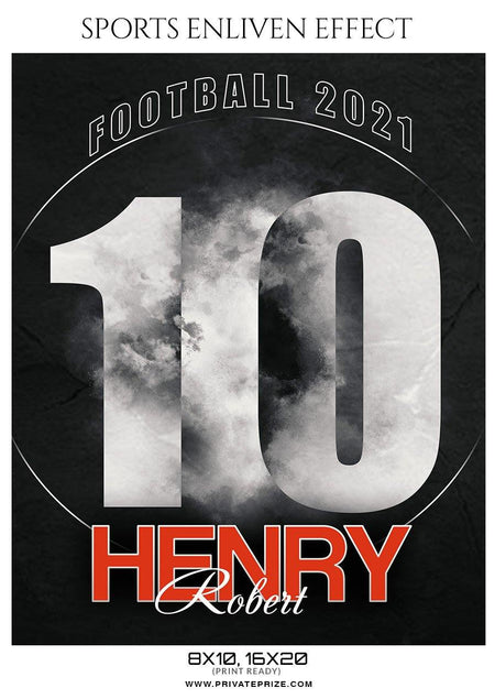 Henry Robert - Football Sports Enliven Effect Photography Template