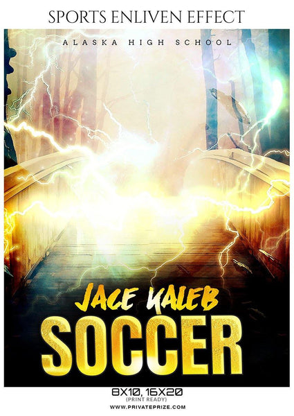 Jace kaleb - Soccer Sports Enliven Effects Photography Template - Photography Photoshop Template