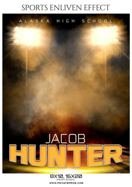 Jacob Hunter - Football Sports Enliven Effects Photography Template