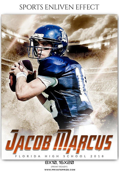 Jacob Marcus - Football Sports Enliven Effect Photography Template