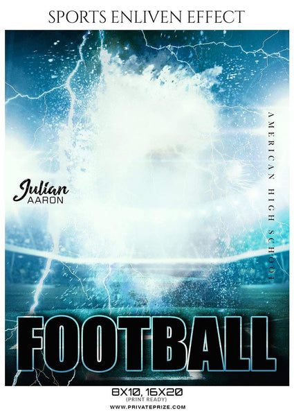 Julian Aaron - Football Sports Enliven Effect Photography Template