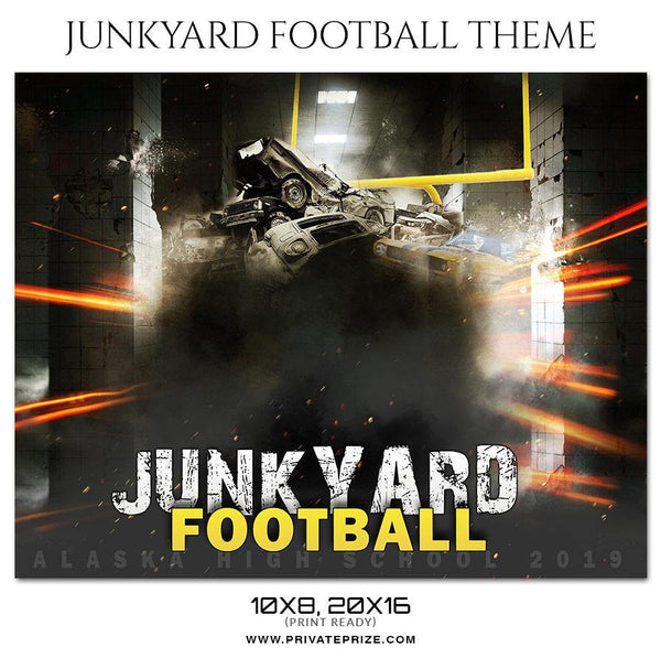 Junkyard - Football Themed Sports Photography Template