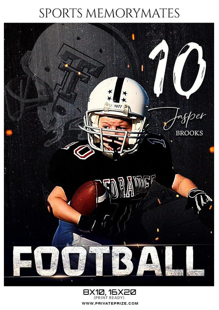 Jasper Brooks - Sports Memory Mates Photography Templates