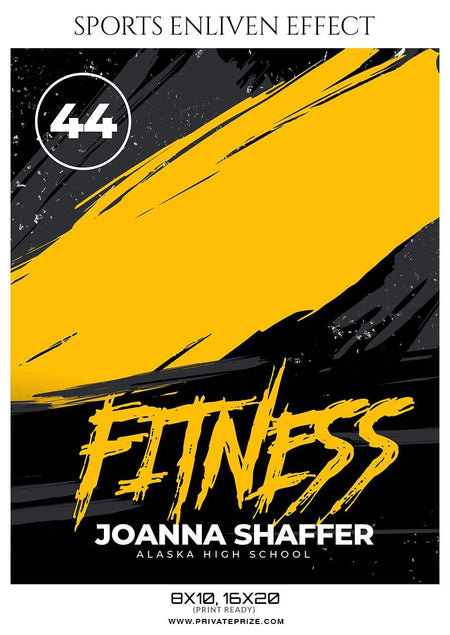 Joanna Shaffer - Fitness Sports Enliven Effects Photography Template