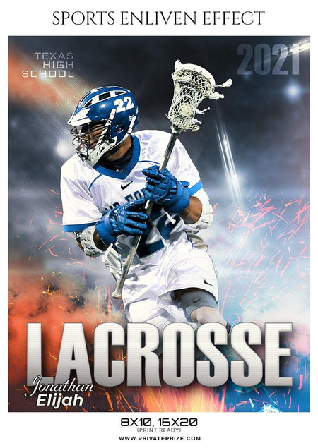 Jonathan Elijah - LACROSSE- ENLIVEN EFFECTS