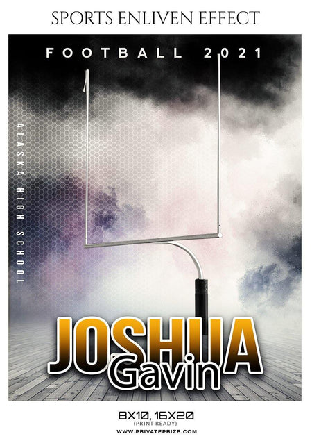 Joshua Gavin - Football Sports Enliven Effect Photography Template