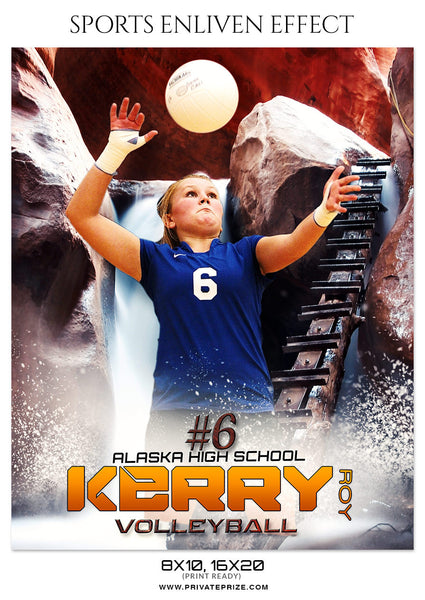 KERRY ROY - VOLLEYBALL SPORTS PHOTOGRAPHY