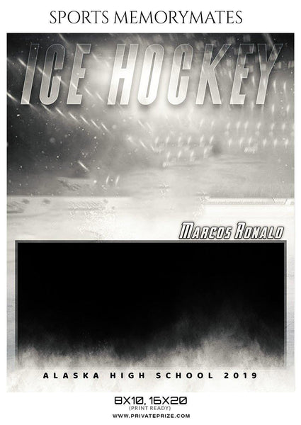 Marcos Ronald - Ice Hockey Memory Mate Photoshop Template