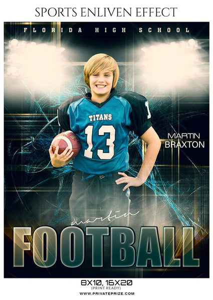 Martin Braxton - Football Sports Enliven Effect Photography Template