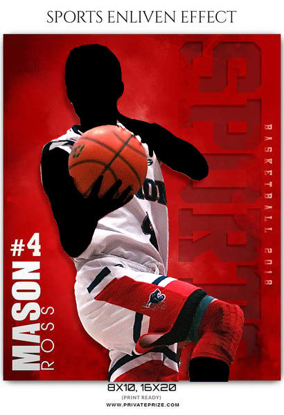 Mason Ross - Basketball Sports Enliven Effects Photography Template