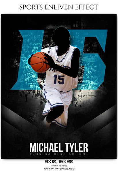 Michale Tyler - Basketball Sports Enliven Effects Photography Template