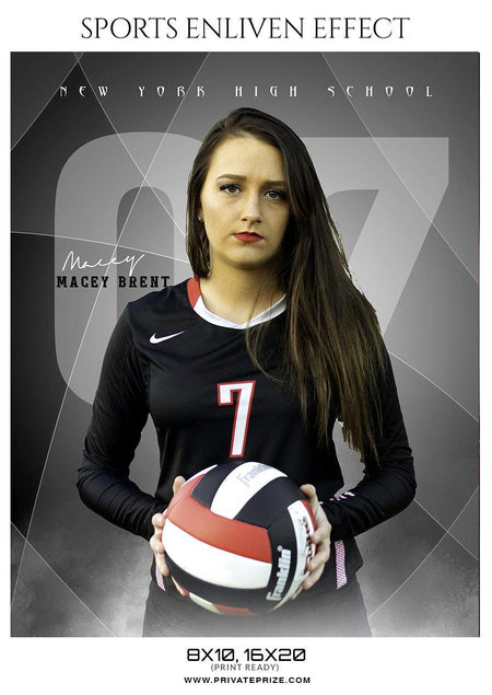Macey Brent - VOLLEYBALL ENLIVEN EFFECT