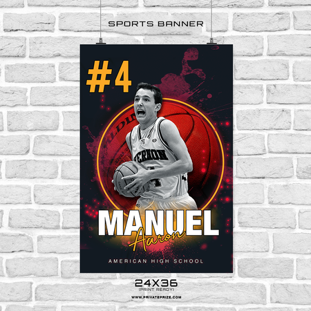 Manuel-Aaron - Sports Banner Photoshop Template