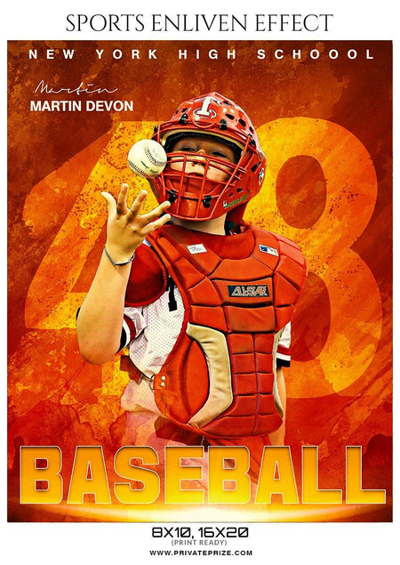 Martin Devon - Baseball Enliven Effect