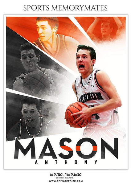 Mason Anthony - Sports Memory Mate Photoshop Template
