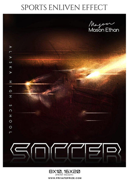 Mason Ethan - Soccer Sports Enliven Effects Photography Template