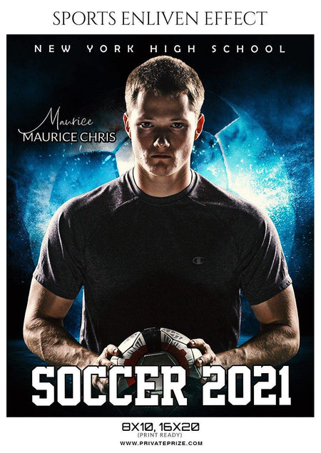 Maurice Chris - Soccer Sports Enliven Effect Photography Template