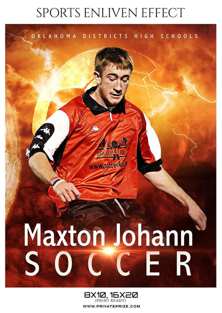Maxton Johann - Soccer Sports Enliven Effect Photography Template