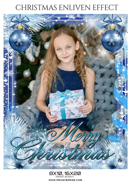 Merry Christmas - Enliven Effect - PrivatePrize - Photography Templates