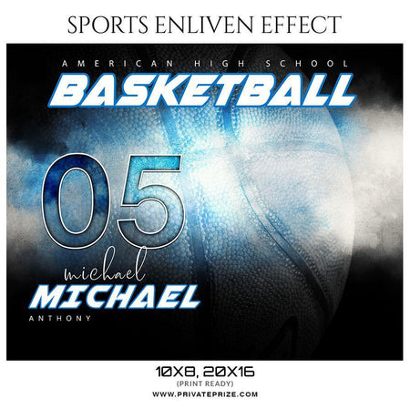 Michael Anthony - Basketball- SPORTS ENLIVEN EFFECT
