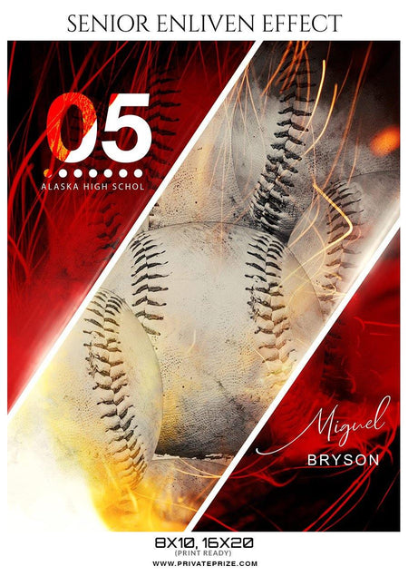 Miguel Bryson - Baseball Enliven Effect