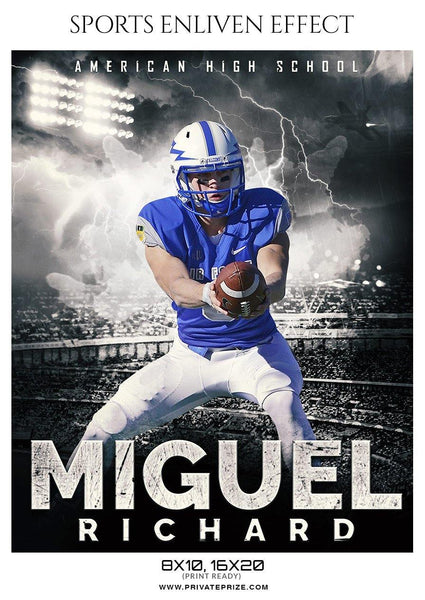 Miguel Richard - Football Sports Enliven Effect Photography Template