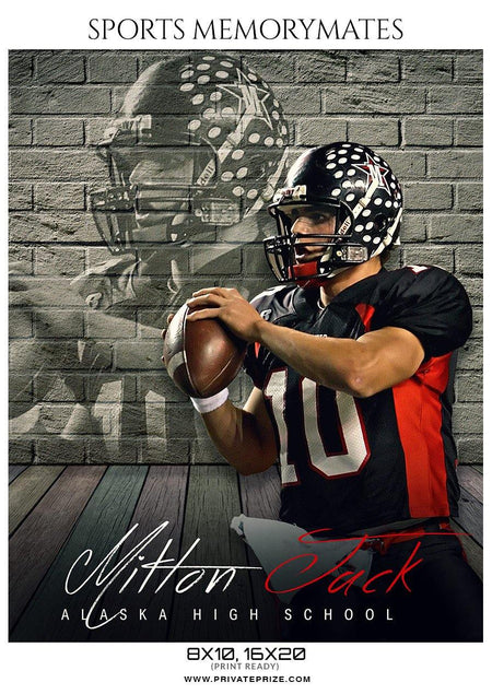 Milton Jack - Football Memory Mate Photoshop Template