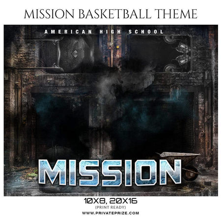 Mission - Basketball - Theme Sports Photography Template
