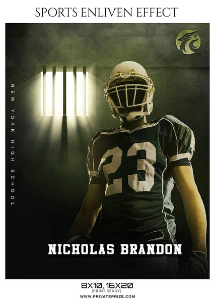 Nicholas Brandon - Football Sports Enliven Effect Photography Template