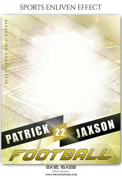Patrick Jaxon - Football Sports Enliven Effects Photography Template