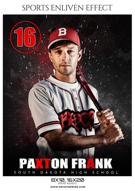Paxton Frank  - Baseball Enliven Effect