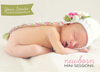New Born Mini Session Flyer Template for Photographers - Photography Photoshop Templates