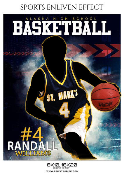 RANDALL WILLIAMS BASKETBALL- SPORTS ENLIVEN EFFECT