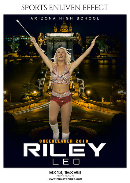 RILEY LEO-CHEERLEADER- ENLIVEN EFFECT