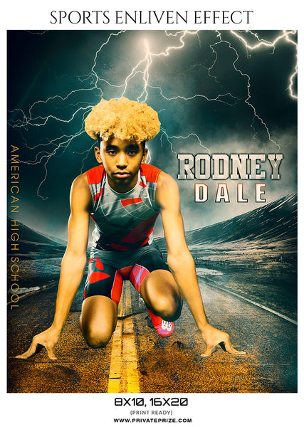 RODNEY-DALE-ATHLETICS- SPORTS ENLIVEN EFFECTS - Photography Photoshop Template