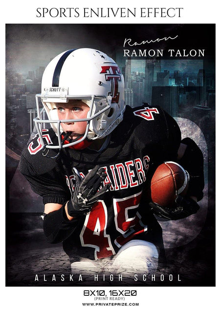 Ramon Talon - Football Sports Enliven Effect Photography Template