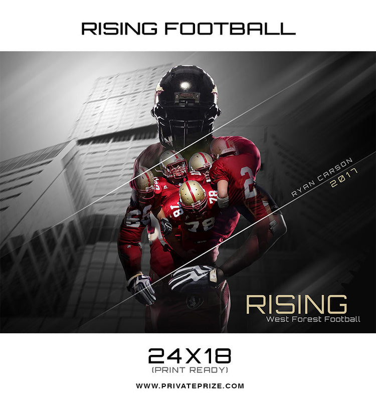 Rising Sports - Enliven Effect - Photography Photoshop Templates