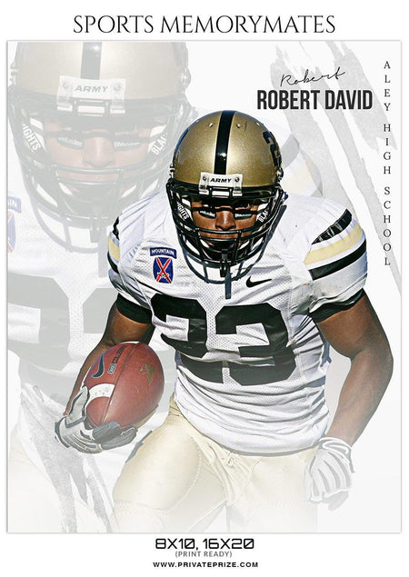 Robert David - Football Memory Mate Photoshop Template