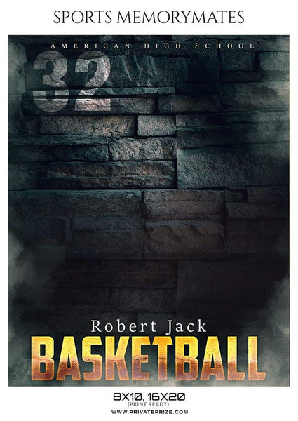 Robert Jack - Basketball Memory Mate Photoshop Template