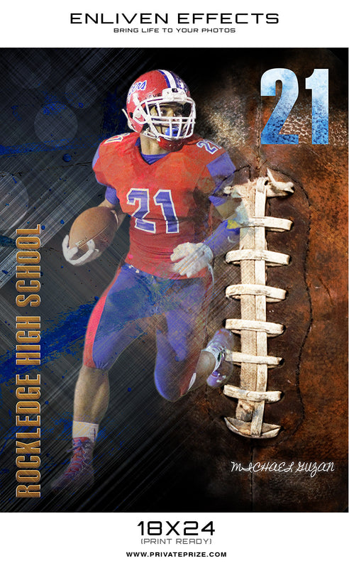 Rockledge Sports - Enliven Effect - Photography Photoshop Template
