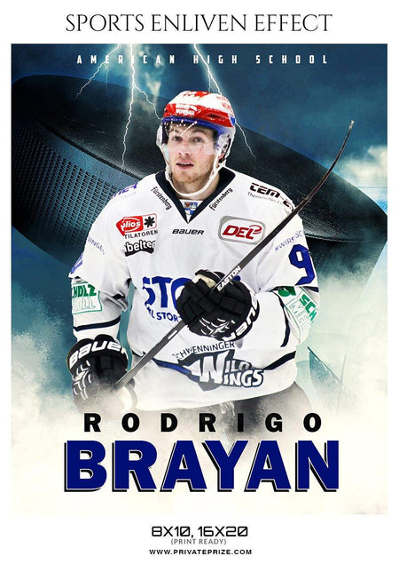 Rodrigo Brayan - ICE HOCKEY - SPORTS ENLIVEN EFFECT